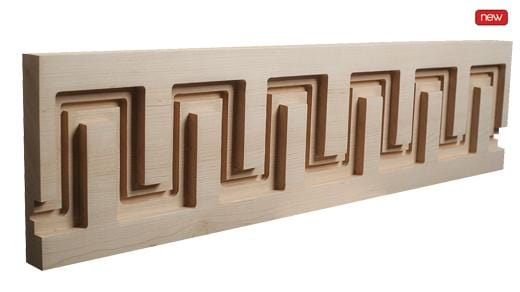 New York Collection, Contemporary Moulding, 6''h x 1''d x 8' length
