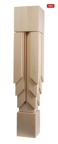 "New York Collection, Contemporary Column, 7""w x 35 1/2'""h x 7''d"