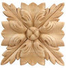 "Traditional Collection, Traditional Rosette,  8""w x 8""h x 3/4''d"