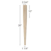 "Contemporary Tapered Square Island Column, 2 3/4""sq. x 36""h"