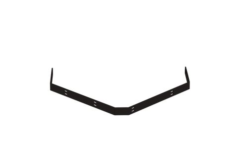 "Designs of Distinction, Corner Support Bracket Wrought Iron, 22"" x 22"""