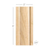 Traditional Pilaster large, 3''w x 3/4''d x 8' length