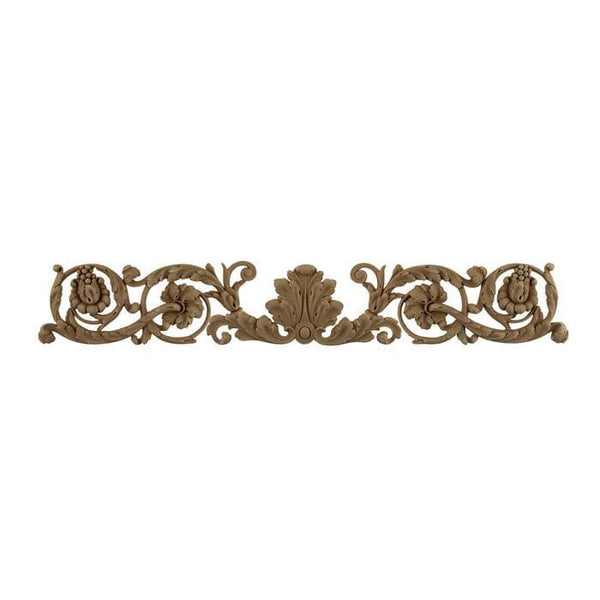 "Louis XVI Horizontal Design Onlay, 26 3/4""w x 4 1/4""h x 3/8""d, Made to Order, Not Returnable"