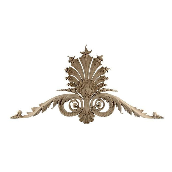 "Shell Cartouche, Louis XV, 27 1/2""w x 14 1/4""h x 3/4""d, Made to Order, Not Returnable, MINIMUM ORDER AMOUNT $200"
