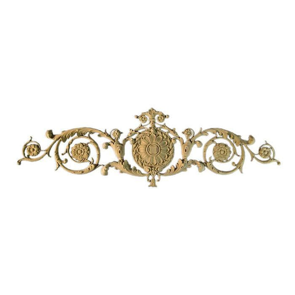 "Renaissance Cartouche, 48 1/2""w x 15""h x 1/2""d, Made to Order, Not Returnable, MINIMUM ORDER AMOUNT $200"