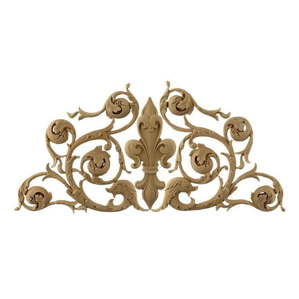 "Italian Fleur de Lis Design, 25 3/4""w x 11 3/4""h x 3/8""d, Made to Order, Not Returnable, MINIMUM ORDER AMOUNT $200"