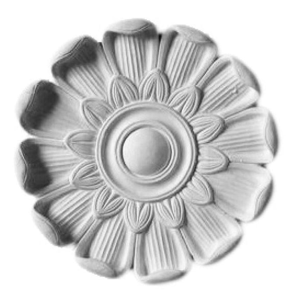 "Roman Medallion, Plaster, 9 1/2""w x 9 1/2""h x 1 1/2""d, Made to Order, Not Returnable, MINIMUM ORDER AMOUNT $200"