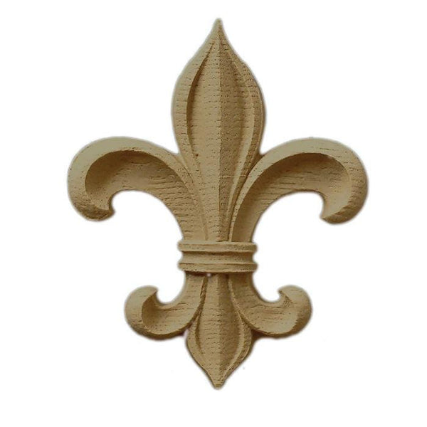 "Fleur de Lis, 4 3/4""w x 5 7/8""h x 1/2""d, Made to Order, Not Returnable, MINIMUM ORDER AMOUNT $200"