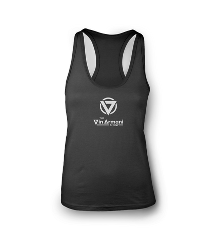 The Vin Armani Show Racer Back Womens Tank