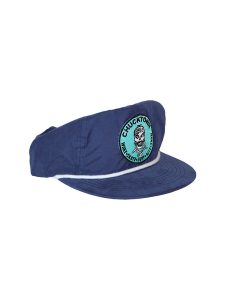 Pirate Patch Unstructured Snapback - Royal
