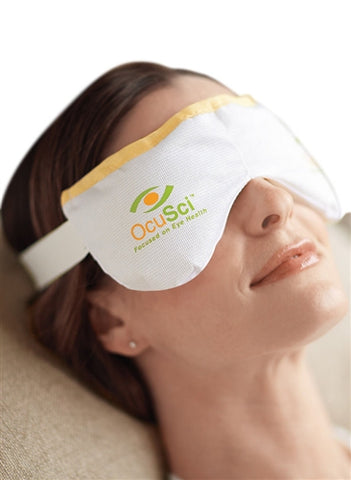Eye Comfort Compress - Moist heat therapy to treat: Dry Eye Syndrome, TMJ, sinus pressure, tension headaches. FREE shipping