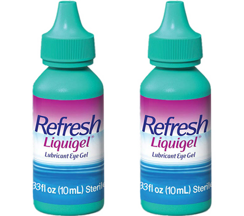 Long Lasting Liquigel Dry Eye Drops - Relief in Seconds! 2-Month Supply - Buy Here 10% Less than on Amazon! + Free Shipping
