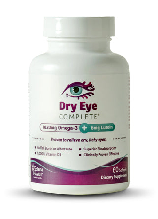 Dry Eye Complete - Mini Formula Softgels - 10% Less than on Amazon; Use Code Save$10
