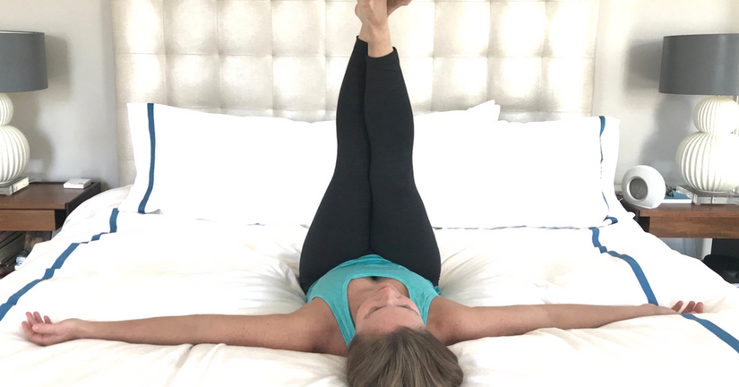 5 Yoga Moves To Do In the Comfort of Your Bed