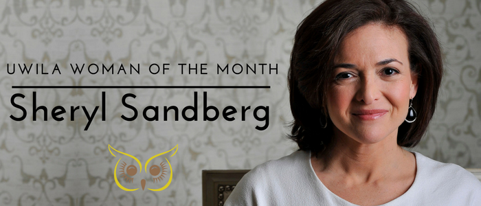 Uwila Woman of the Month:  Sheryl Sandberg