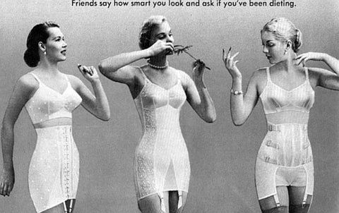010db5534 ... a particular trend that grew in popularity in the 50s was the girdle.  Girdles