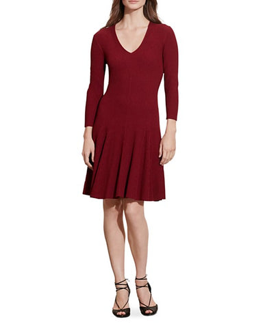 Uwila Warrior, Fall Dresses, Bloomingdale's Lauren Ralph Lauren Ribbed Dress