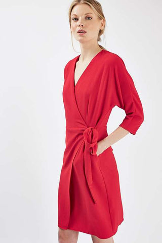Uwila Warrior, Fall Dresses, Topshop Batwing Sleeve Wrap Dress