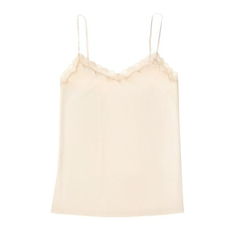 Soft silk camisole to wear under sweaters