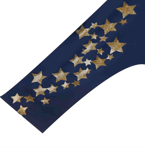 Dress Blue with Starlight Gold