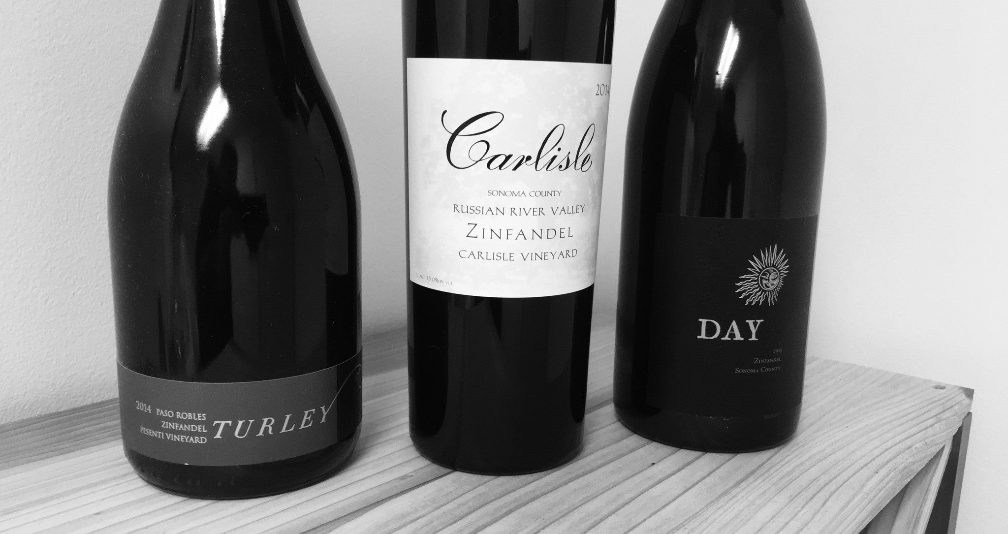 California Zinfandel:  Three of the Best