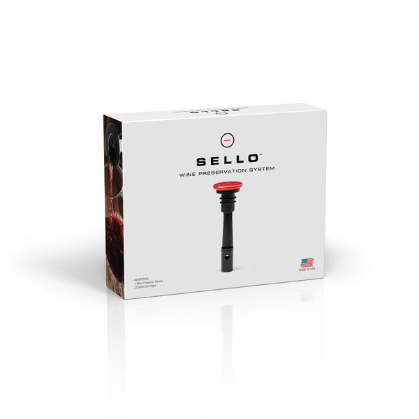 Sello Wine Preservation System-retail packaging