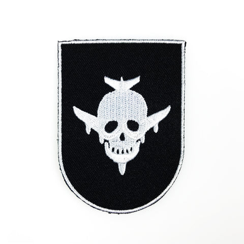 Skull/Plane Logo Patch