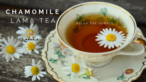 Chamomile Lama Tea for Stress And Anxiety.