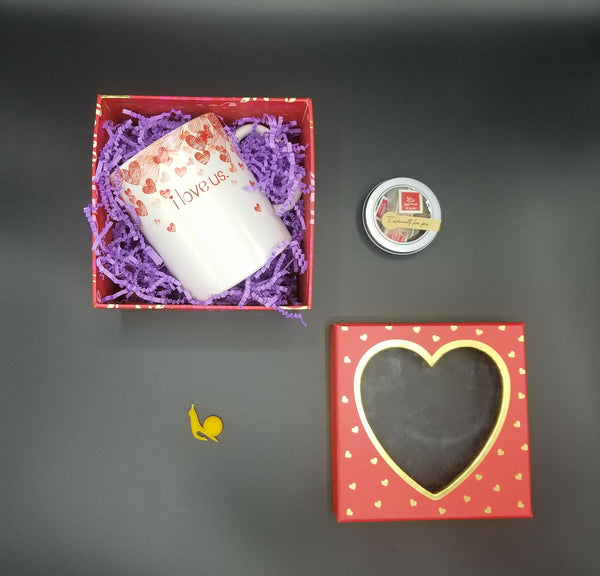 GIFT SET  ~I LOVE US TEA CUP~