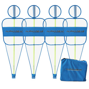 Portable Agility Pole Accessory - 4 pack