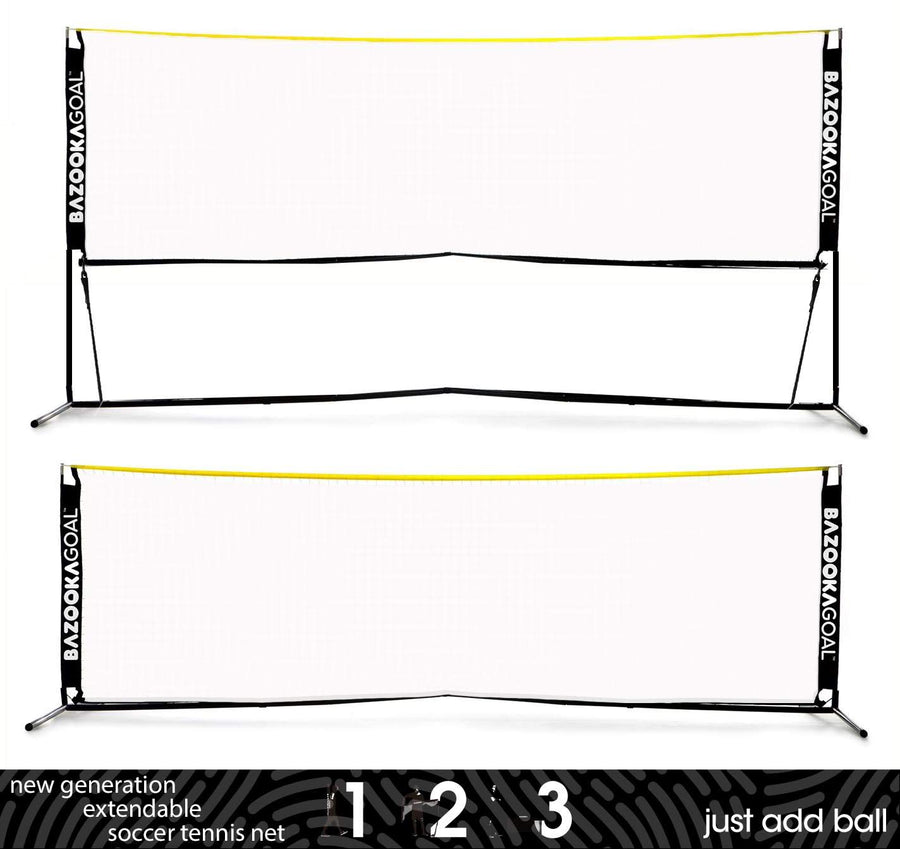 Bazookagoal Extendable Football Tennis Net