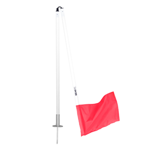 Corner Flag Set with spring pole (for grass)