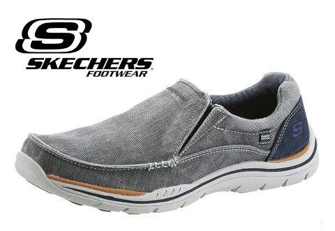 Skechers Slipper aus Canvas