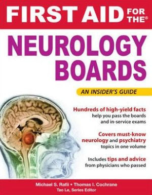 First Aid For The Neurology Boards Abc Books Lebanon