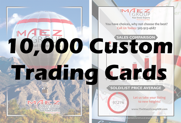 10,000 Custom Balloon Cards
