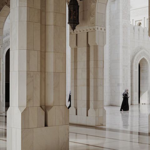 Allem Studio travels Sultan Qaboos Mosque