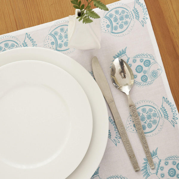 Aqua Fish Placemat (set of 4) - ALLEM STUDIO