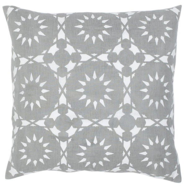 Casablanca Gray Pillow - ALLEM STUDIO