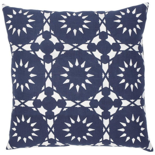 Casablanca Navy Pillow - ALLEM STUDIO