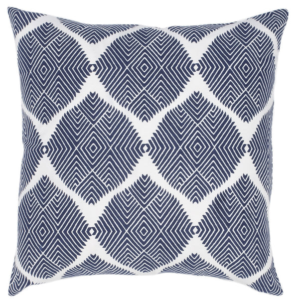Indus Navy Pillow - ALLEM STUDIO