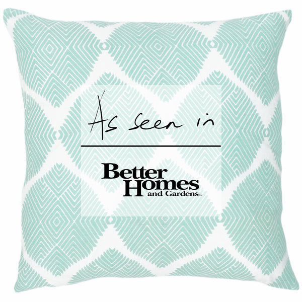 Indus Seafoam Pillow - ALLEM STUDIO