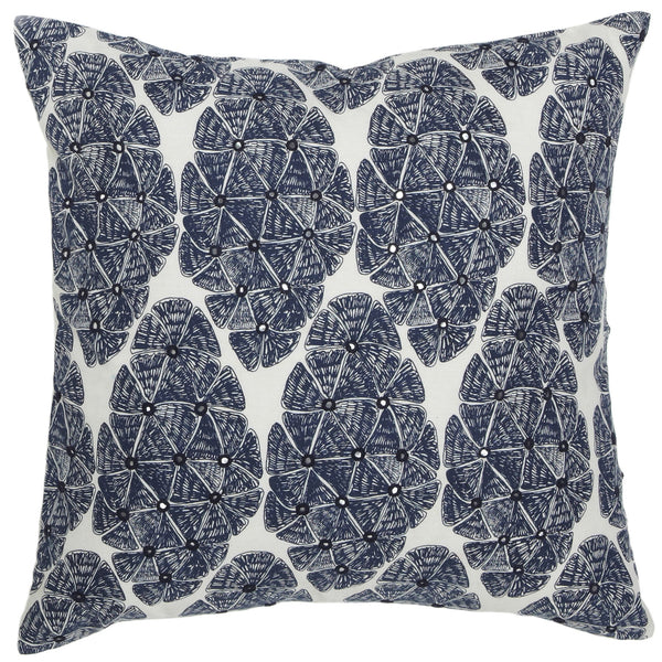 Sofia Navy Pillow
