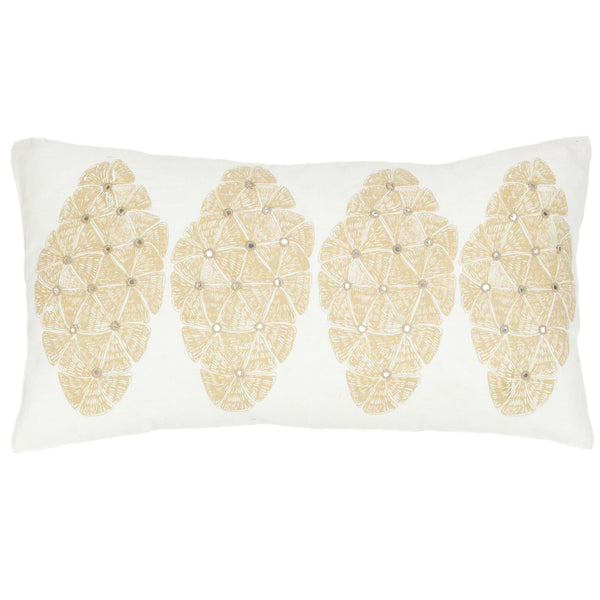 Sofia Sand Lumbar Pillow
