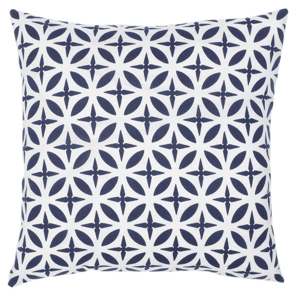 Troy Navy Pillow - ALLEM STUDIO