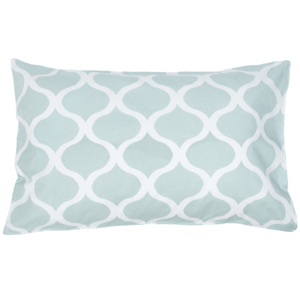 Uma Blue Pillow Cases (Set of 2)