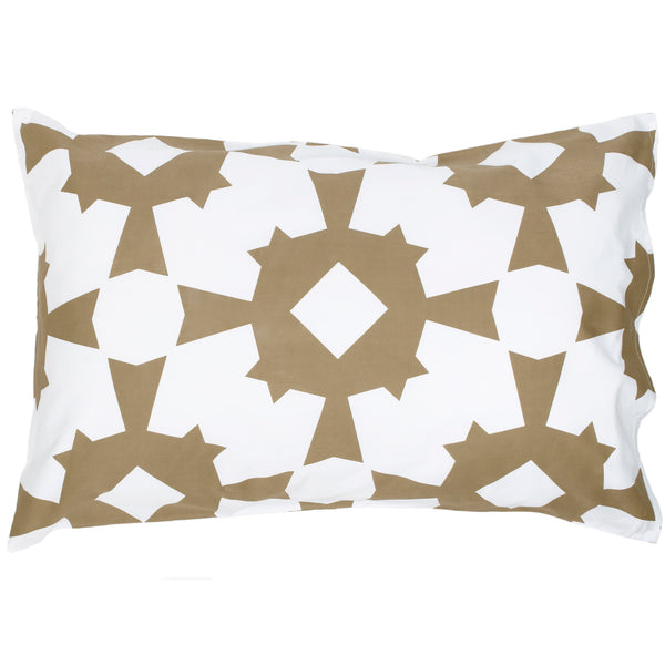 Uma Brown Pillow Cases (Set of 2) - ALLEM STUDIO