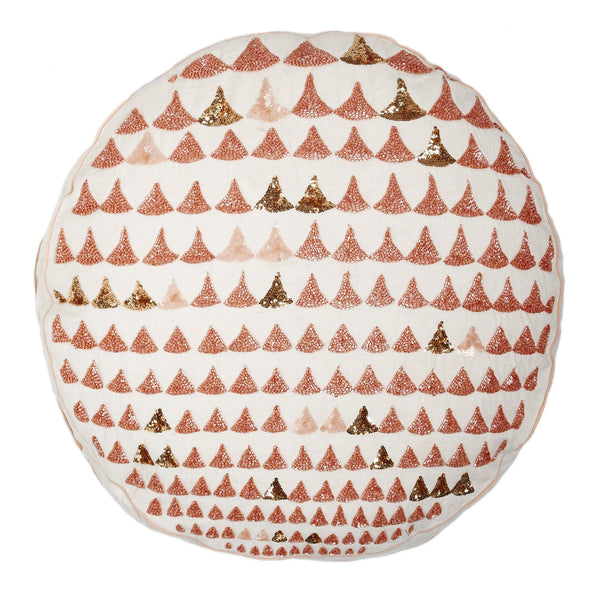 "Audrey Pillow (20"" Round & 12x22)"