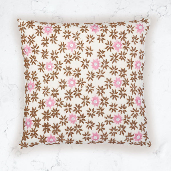 Blossom Tan Pillow
