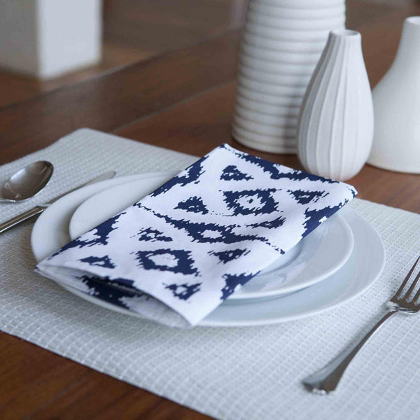 Celtic Navy Napkin (set of 4) - ALLEM STUDIO