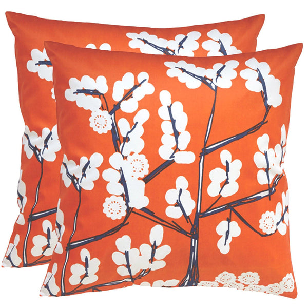 Cherry Outdoor Pillows (Pair)